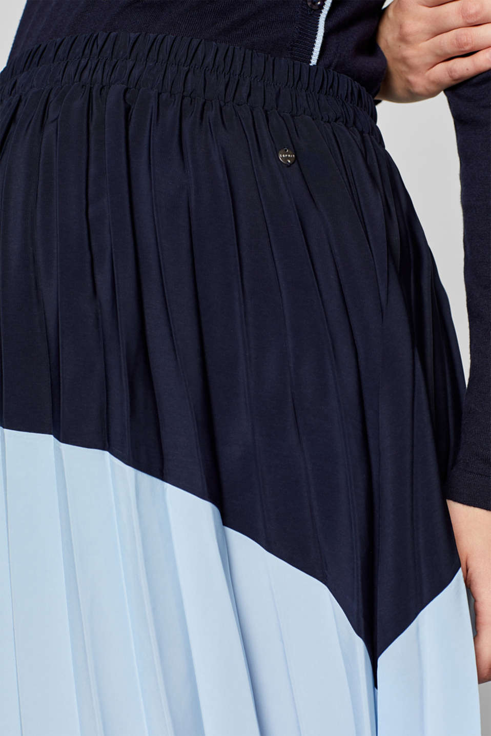 Skirts woven, LCNIGHT BLUE, detail image number 2