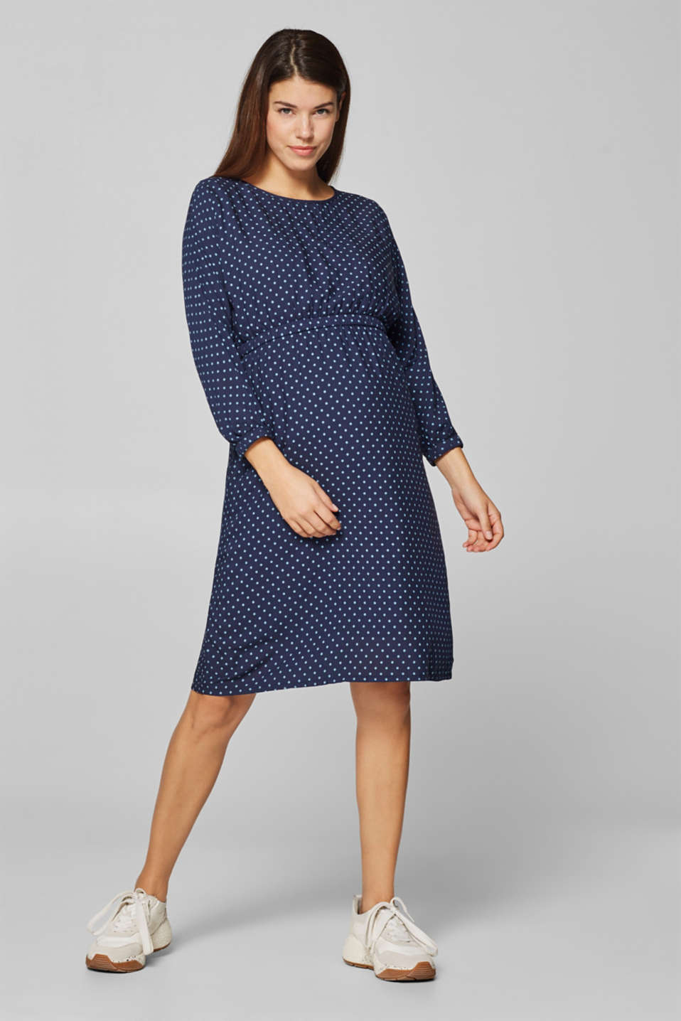 Esprit - Polka dot print dress