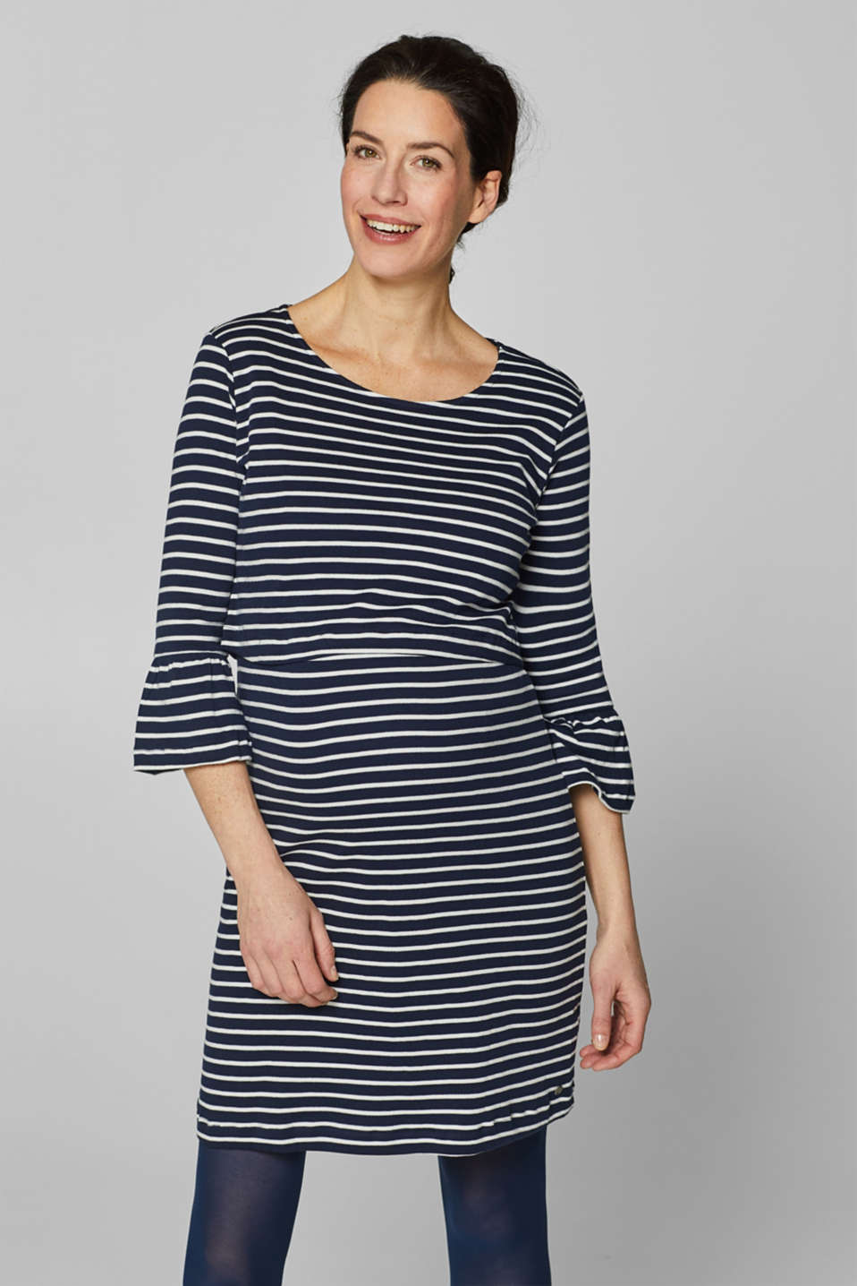 Esprit - Nursing dress with organic cotton, 100% cotton