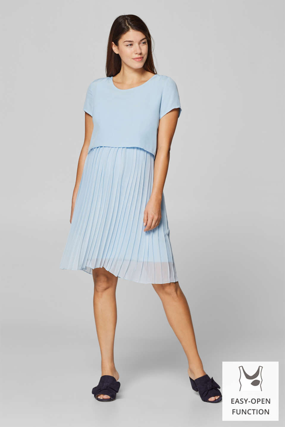 Esprit - Mixed material nursing dress