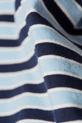 Stretch top with stripes, LCLIGHT BLUE, detail