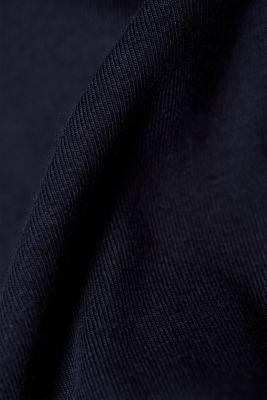 Layered long sleeve nursing top
