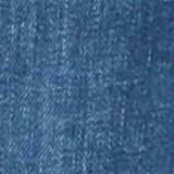 Stretch-Jeans mit Überbauchbund, BLUE DARK WASHED, swatch