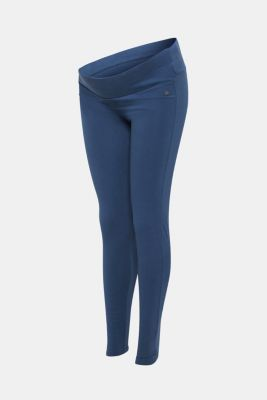 Leggings with a supporting, below-bump waistband, LCDARK BLUE, detail