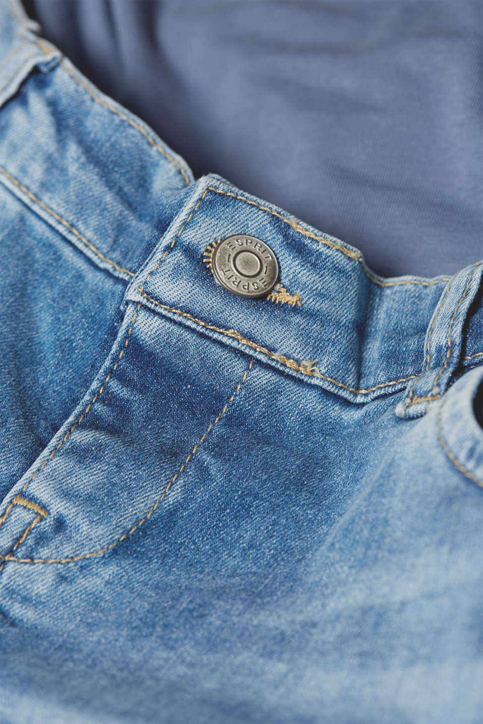 Pants denim, LCLIGHTWASH, detail image number 4