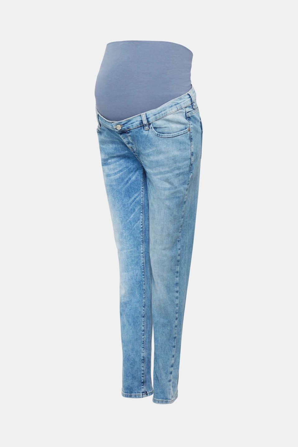 Pants denim, LCLIGHTWASH, detail image number 7
