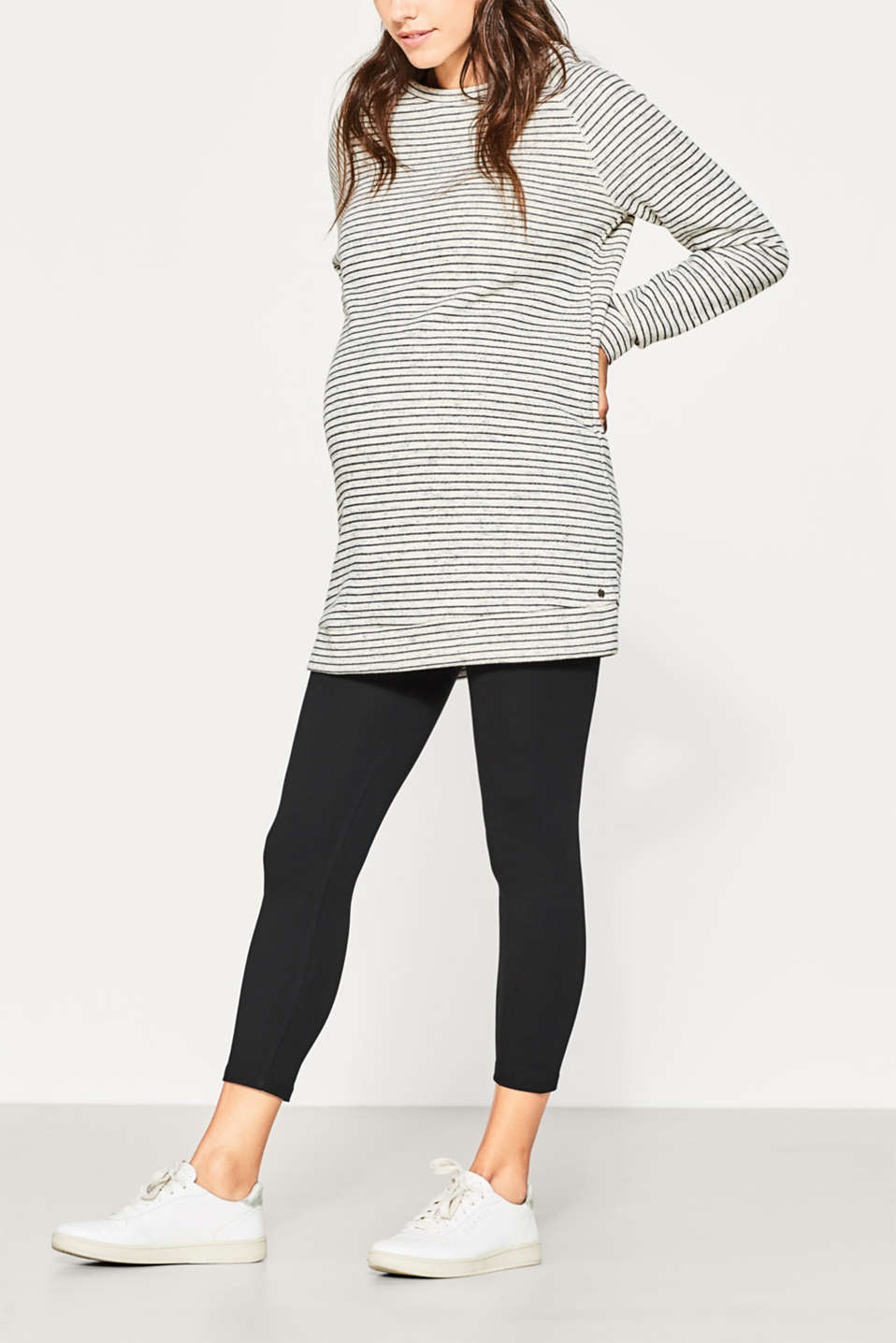 Esprit - 7/8 leggings with under-bump waistband
