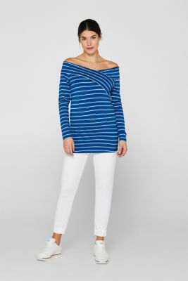 Stretch jeans with an over-bump waistband, LCWHITE, detail