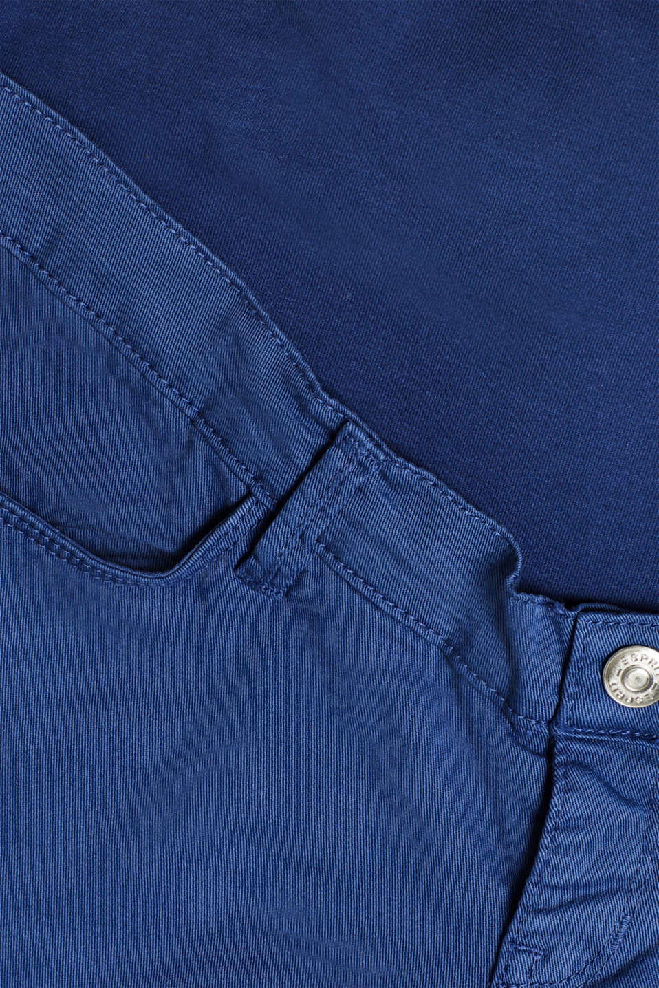 Stretch jeans with an over-bump waistband, LCDARK BLUE, detail image number 4