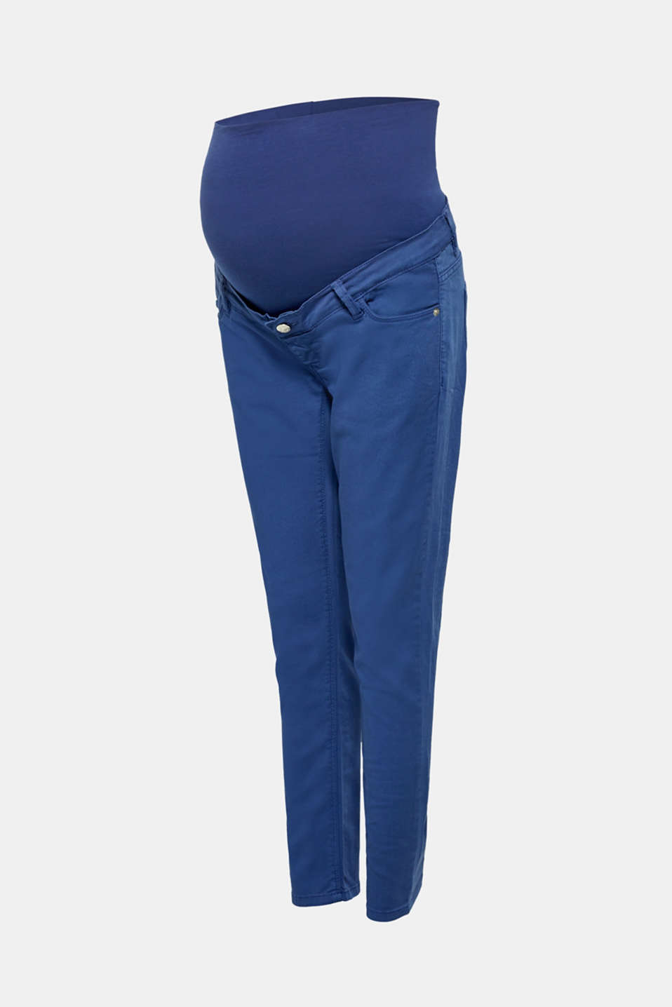 Stretch jeans with an over-bump waistband, LCDARK BLUE, detail image number 5