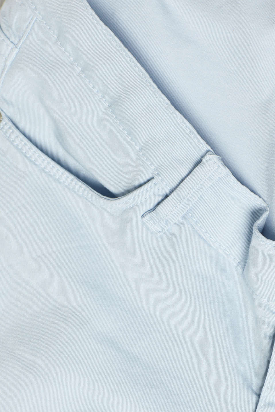 Stretch jeans with an over-bump waistband, LCLIGHT BLUE, detail image number 4