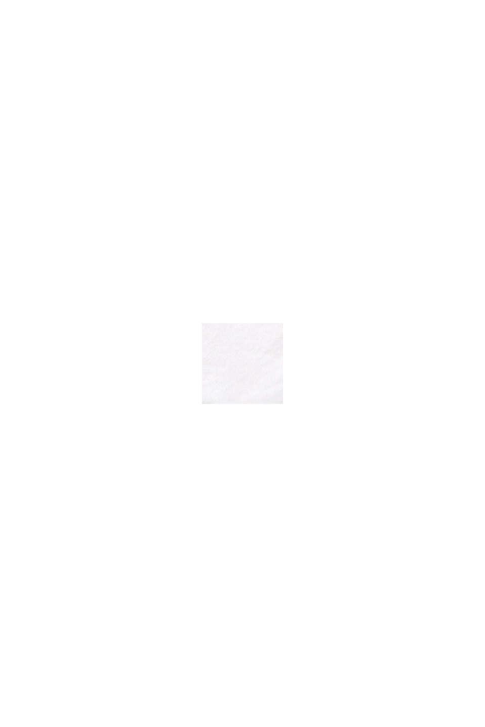 Szorty chinosy z panelem, WHITE, swatch