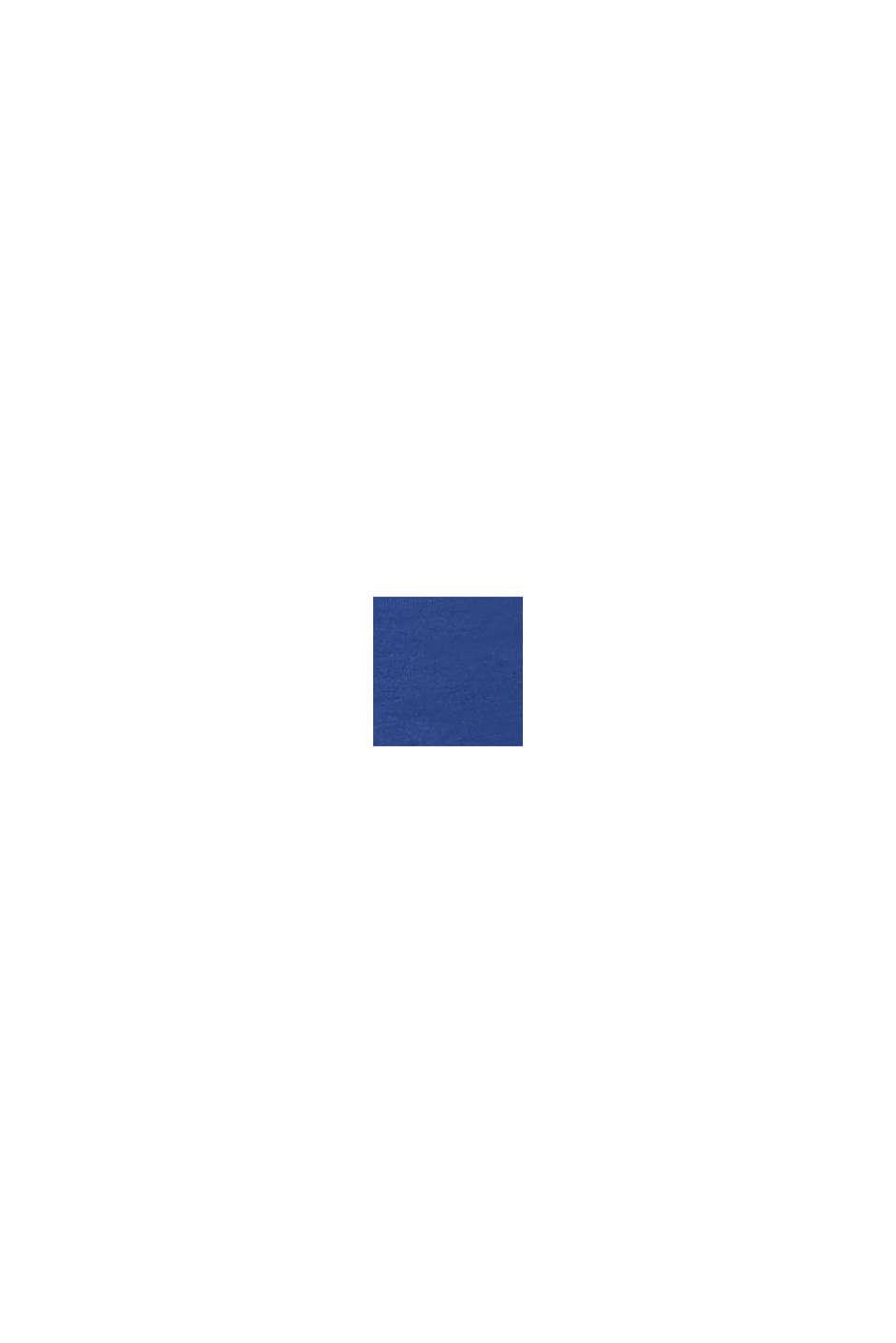 Szorty chinosy z panelem, DARK BLUE, swatch