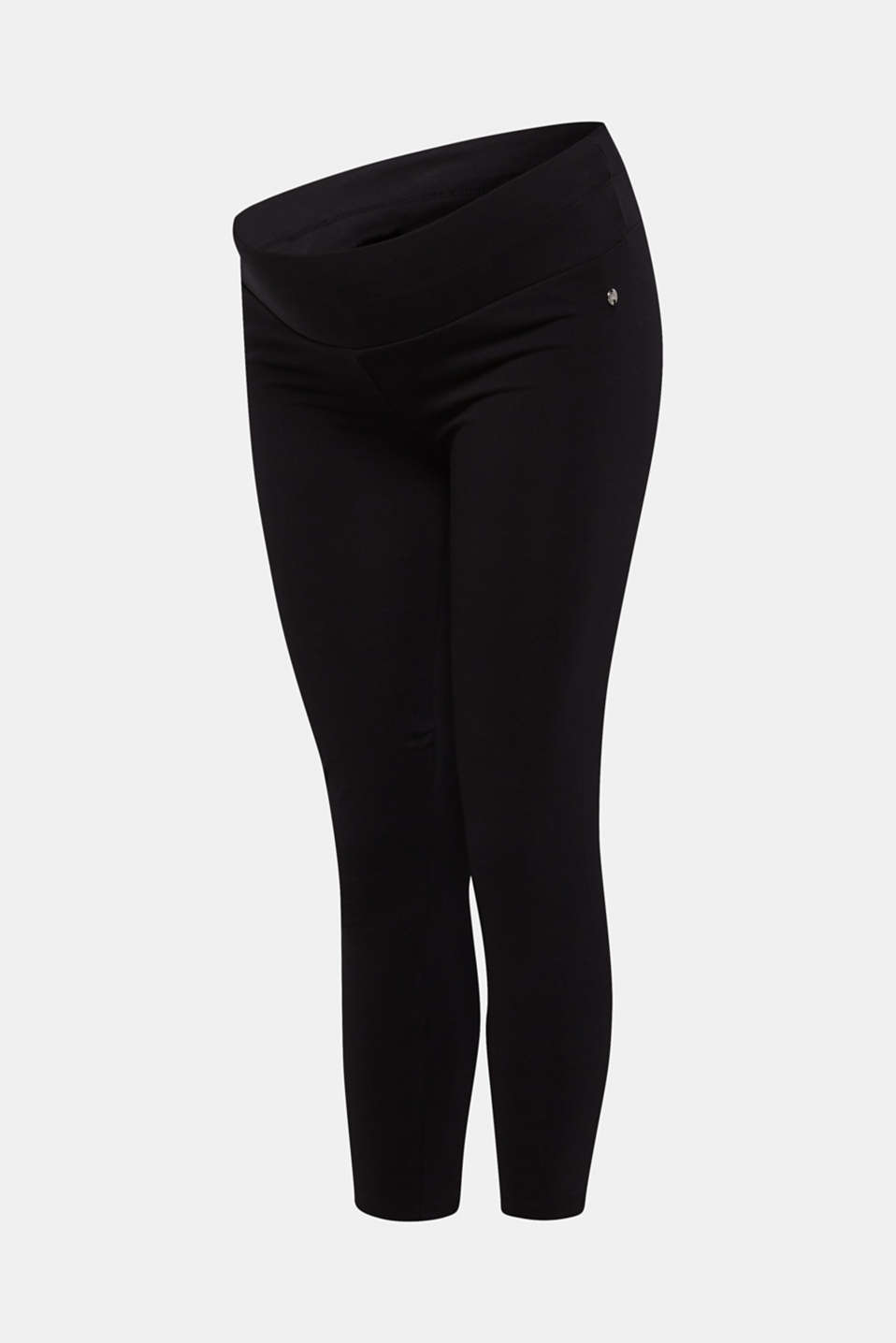 Leggings with an under-bump waistband, LCBLACK, detail image number 3