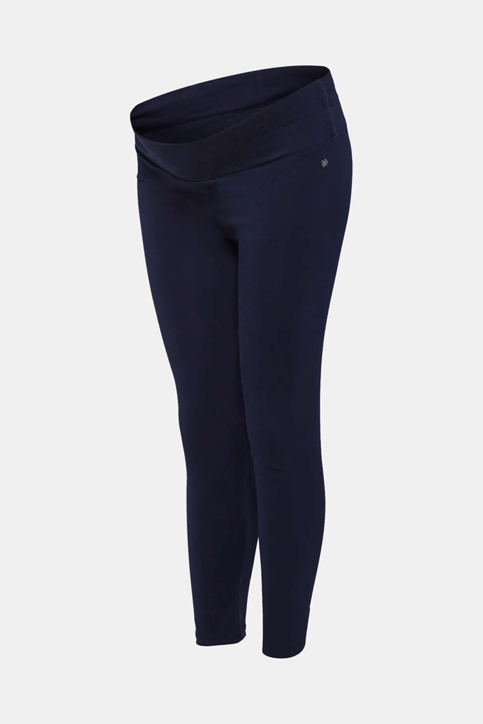 Leggings with an under-bump waistband, LCNIGHT BLUE, detail image number 3
