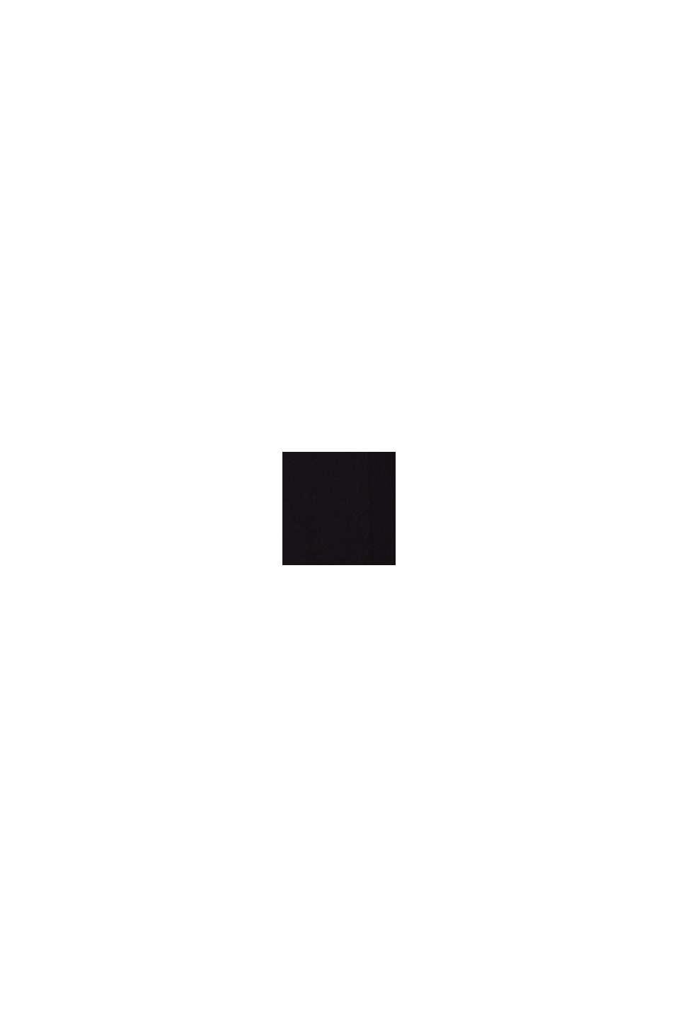 Crêpe culottes with an under-bump waistband, BLACK, swatch