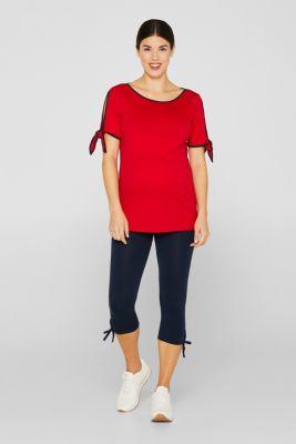86df2e7ecd23f Esprit - Capri leggings + under-bump waistband at our Online Shop
