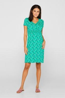 Jersey nursing dress, LCEMERALD GREEN, detail