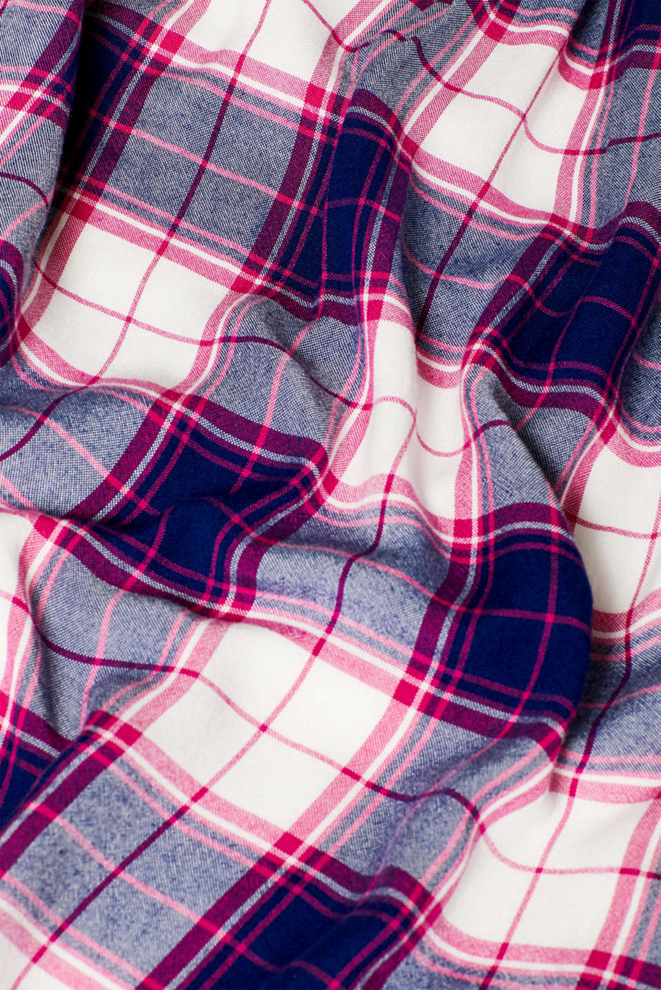 Woven check dress, LCDARK BLUE, detail image number 4