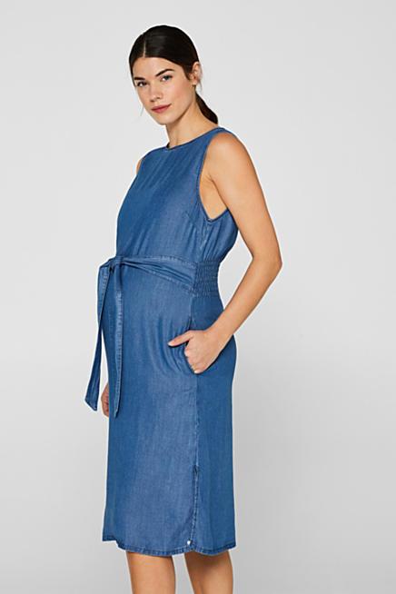 9b63080c7a Sukienka z batystu z marszczeniem