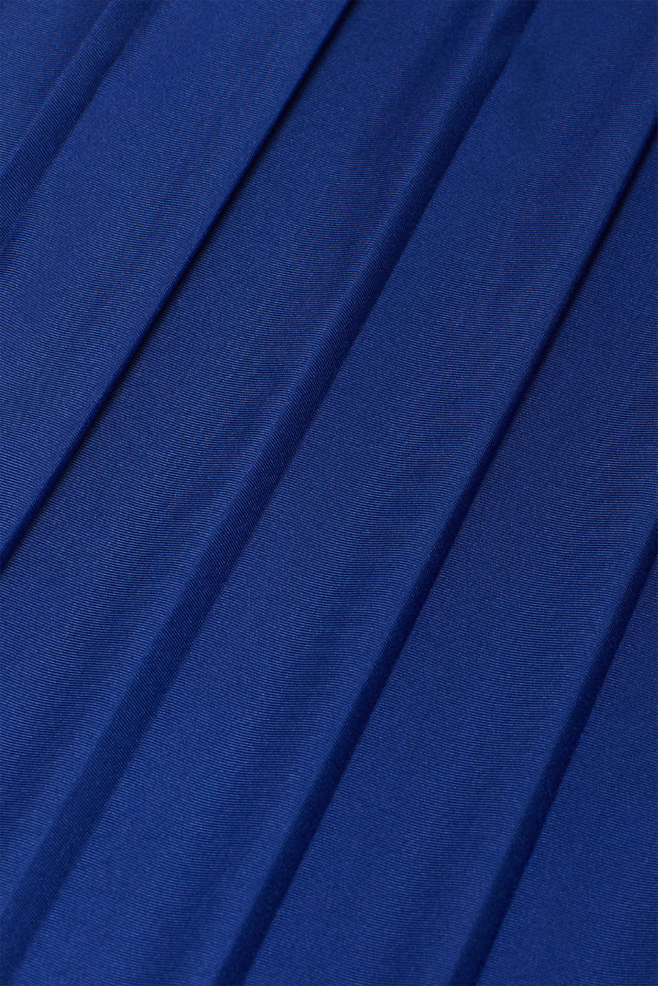 Lace-trimmed dress with a pleated skirt, LCDARK BLUE, detail image number 4