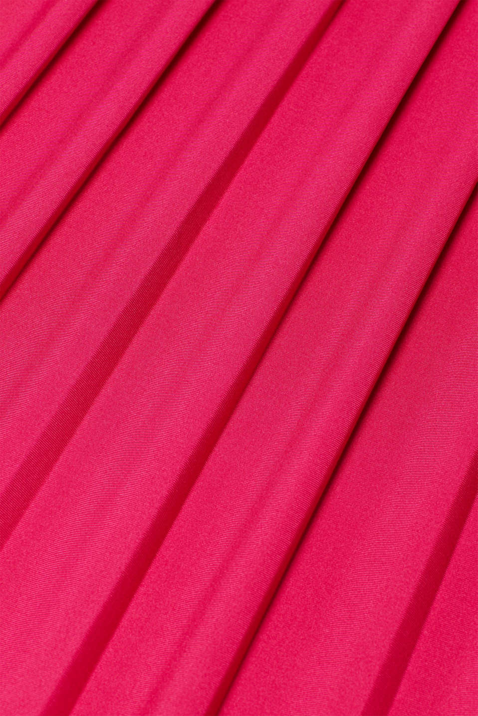 Lace-trimmed dress with a pleated skirt, LCPINK FUCHSIA, detail image number 4