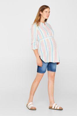 Long nursing blouse, LCPINK FUCHSIA, detail