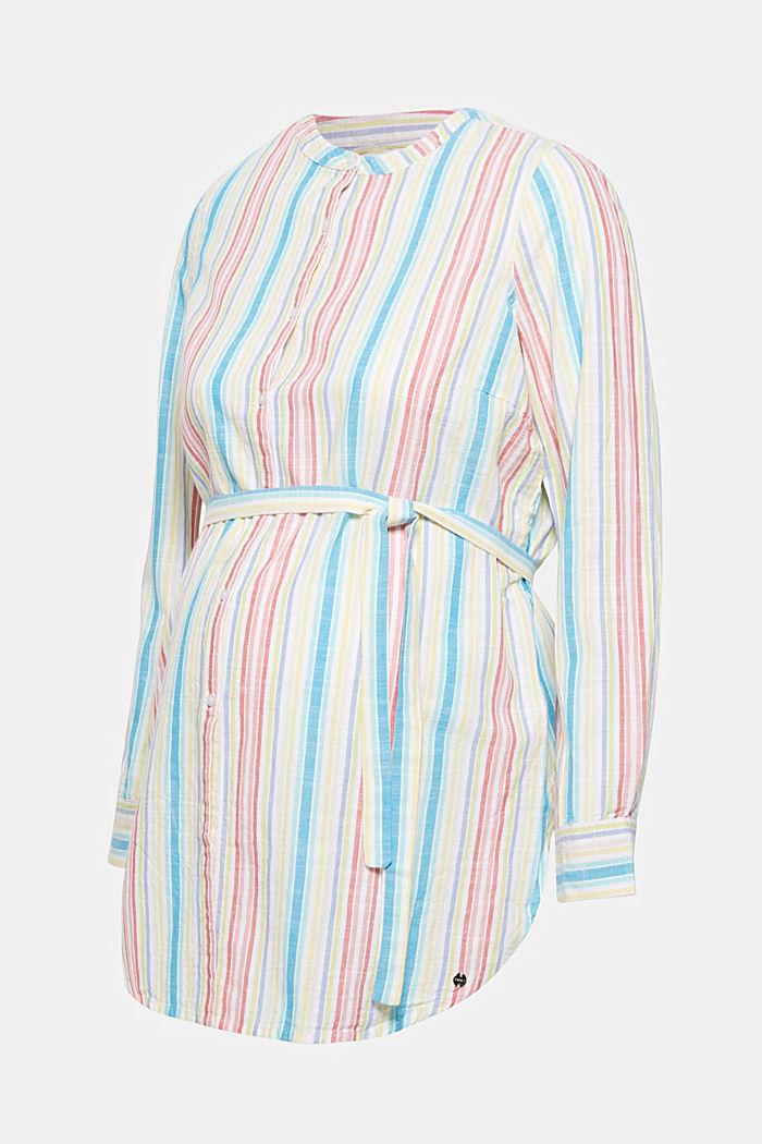 Long nursing blouse, PINK FUCHSIA, detail image number 0