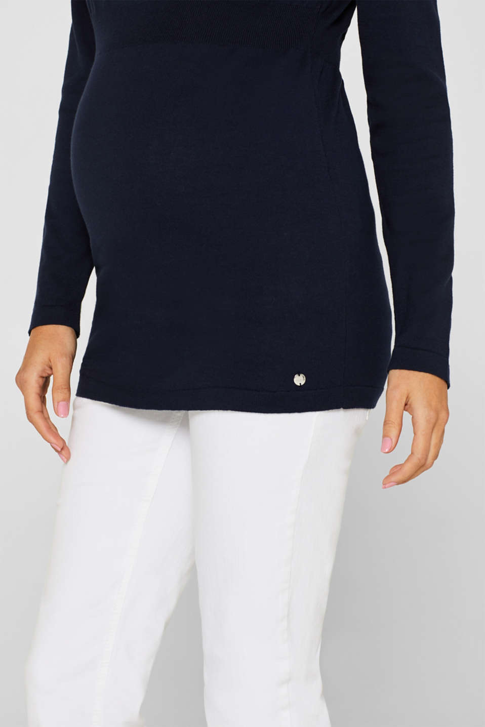 Sweaters, LCNIGHT BLUE, detail image number 2