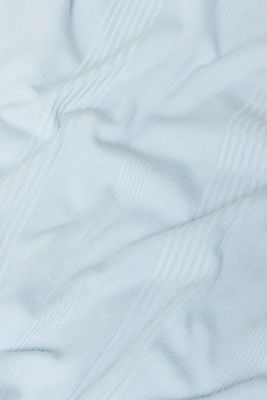 Stretch T-shirt with textured stripes, LCLIGHT BLUE, detail