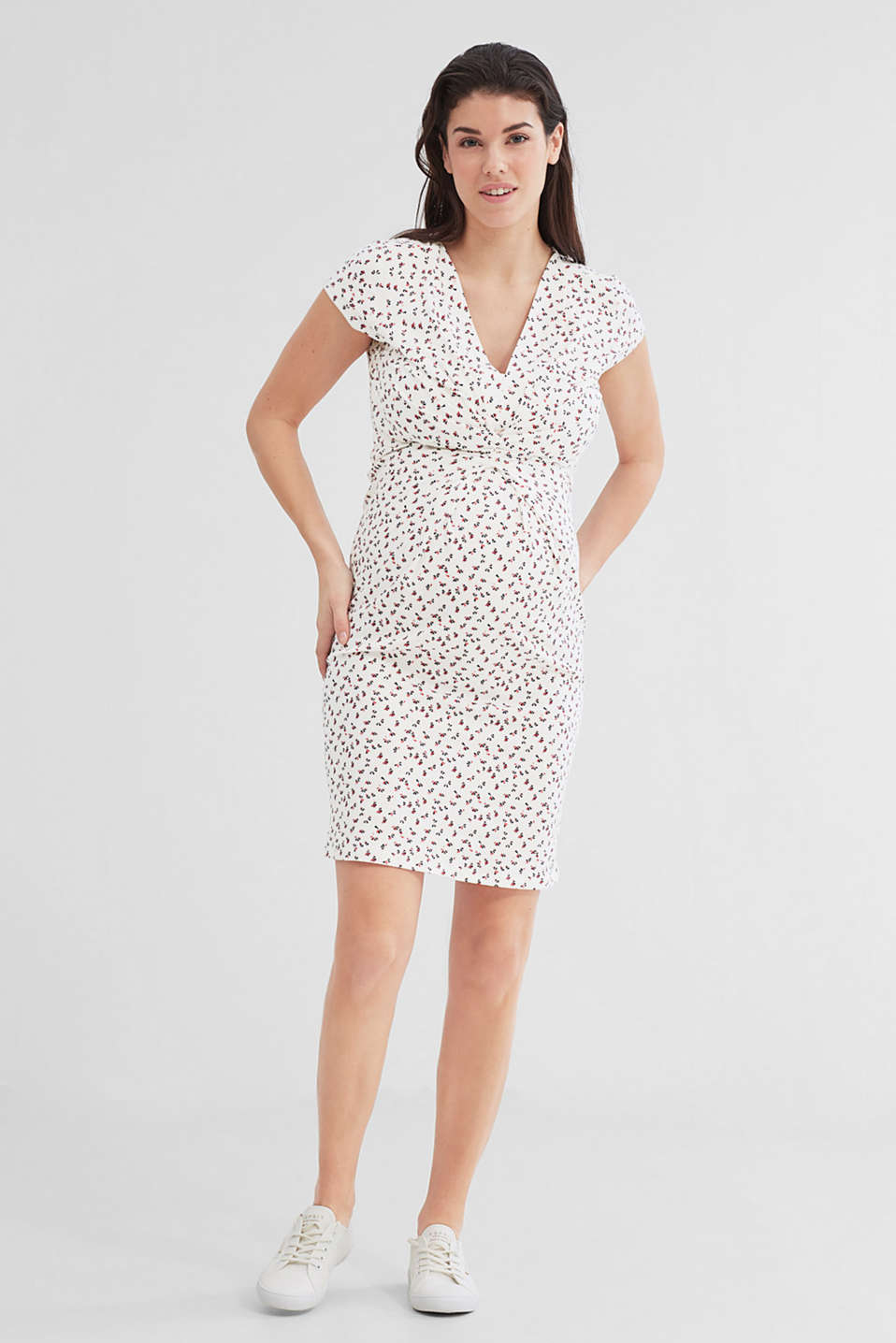 Esprit - Nursing dress in stretch jersey