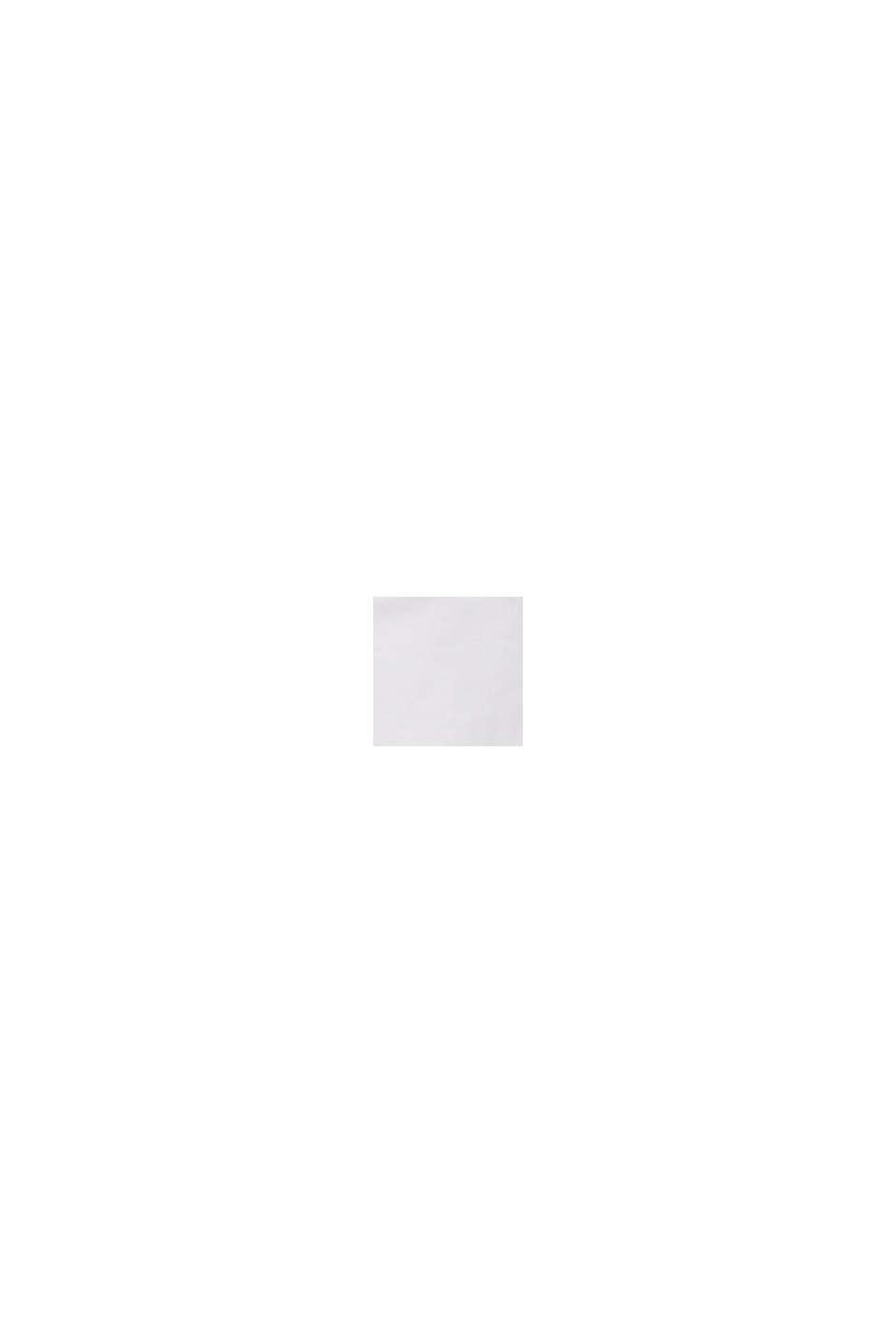 Szorty z bawełny ze streczem, z panelem, WHITE, swatch