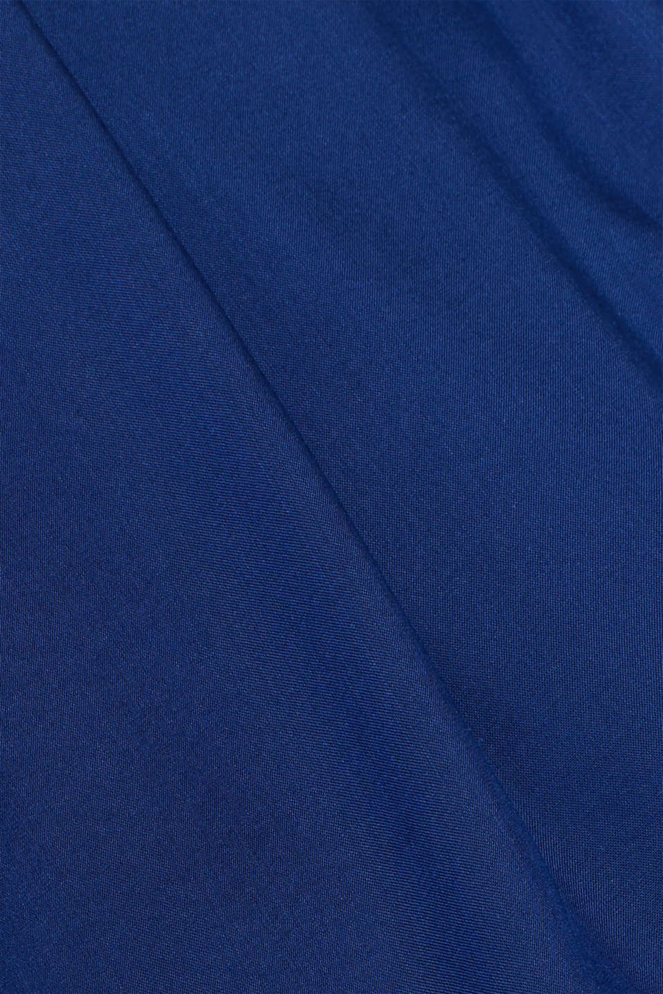Woven maxi skirt with a below-bump waistband, LCDARK BLUE, detail image number 4