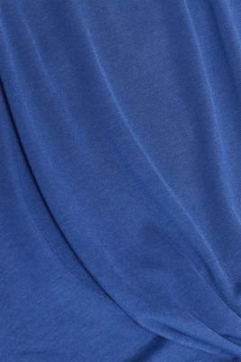 T-shirt with a knot detail on the front hem, LCDARK BLUE, detail