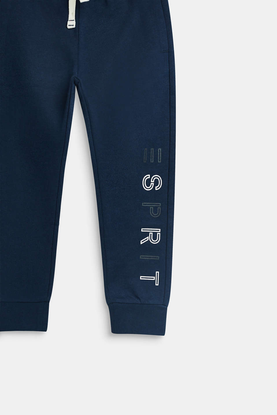 Pants knitted, LCNAVY, detail image number 2