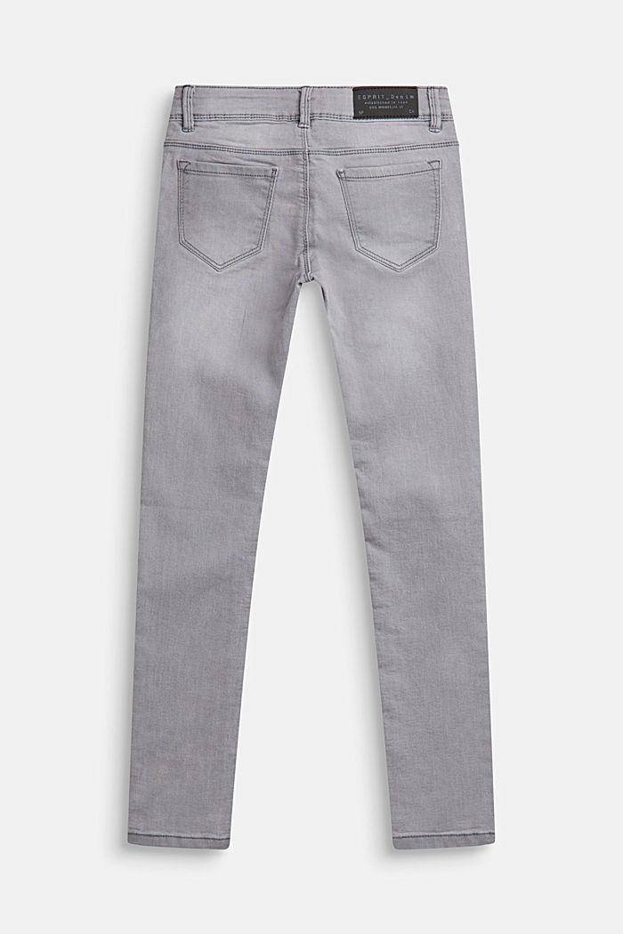 Stretch-Jeans mit Verstellbund