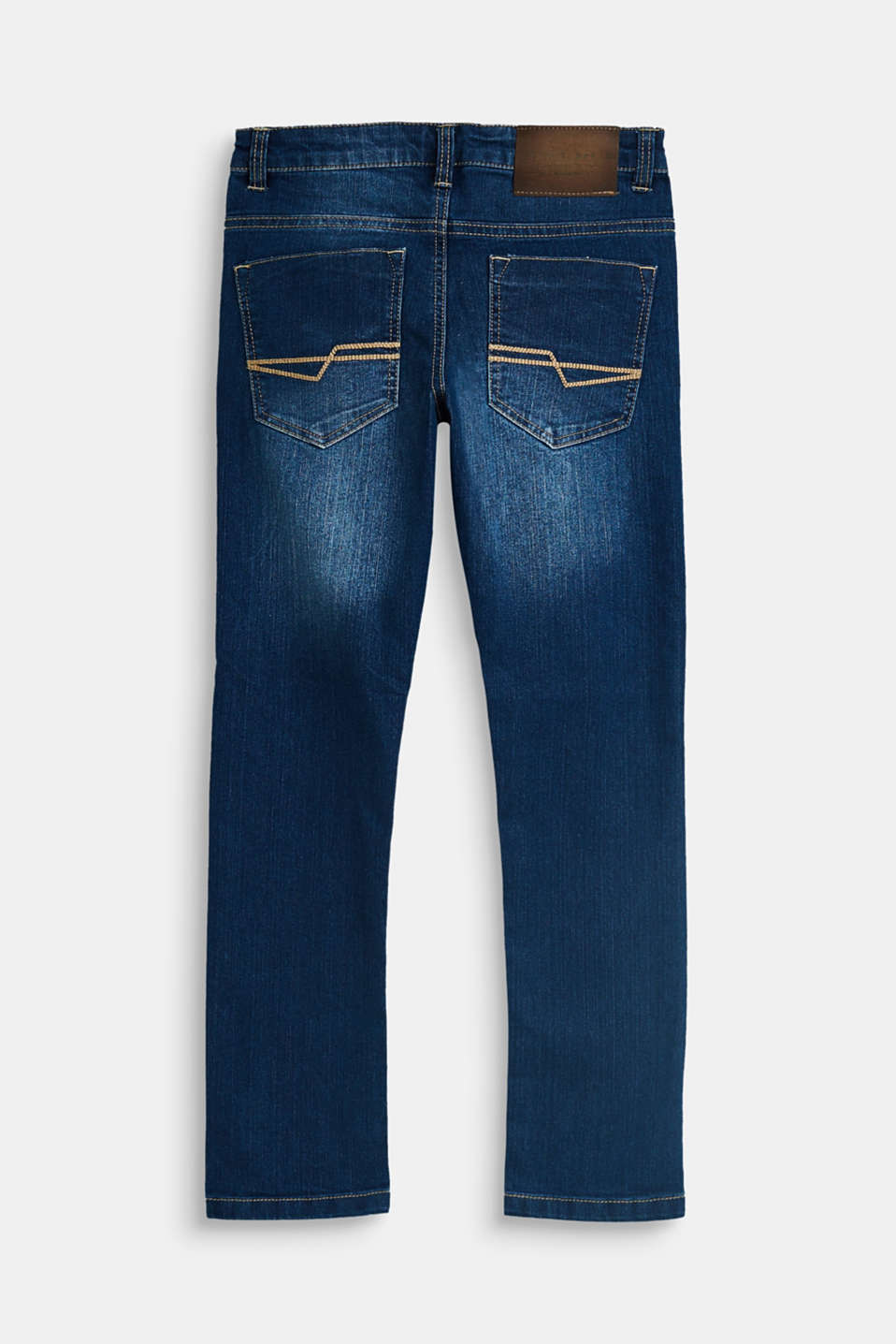 Stretch jeans with an adjustable waist, LCMEDIUM WASH DE, detail image number 1