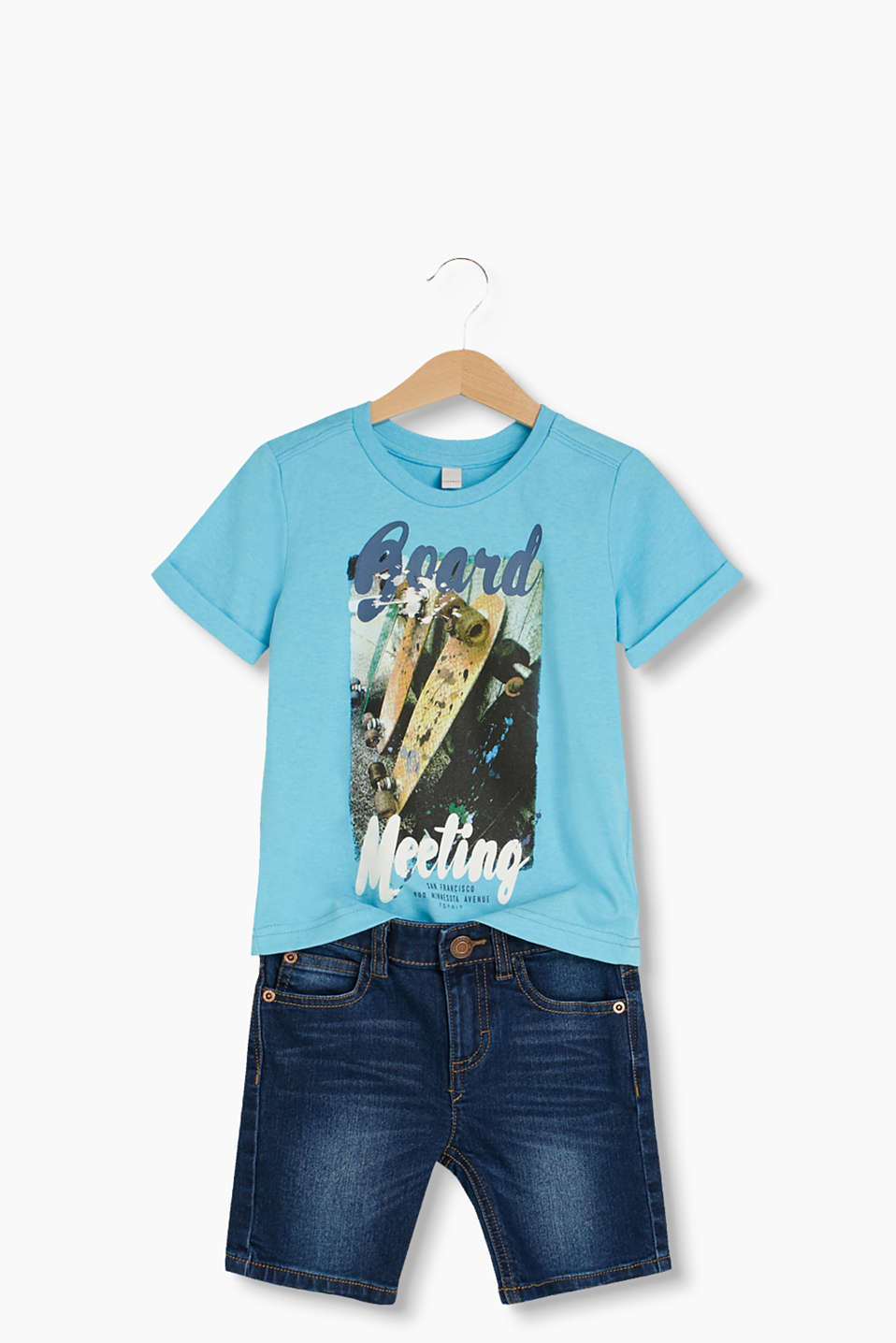 T-shirt med cool fotoprint
