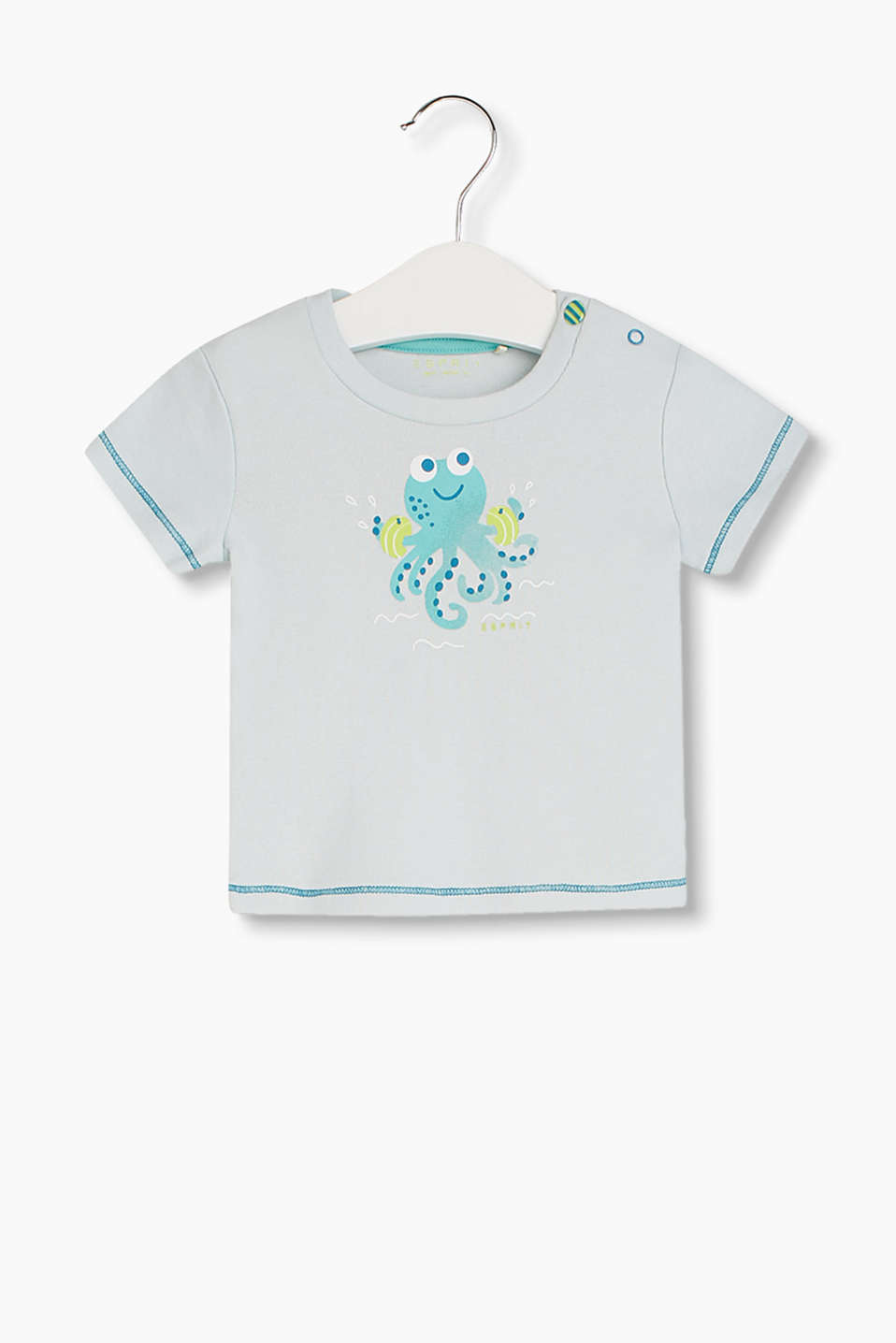 Esprit organic cotton printed t shirt at our online shop for Organic cotton t shirt printing
