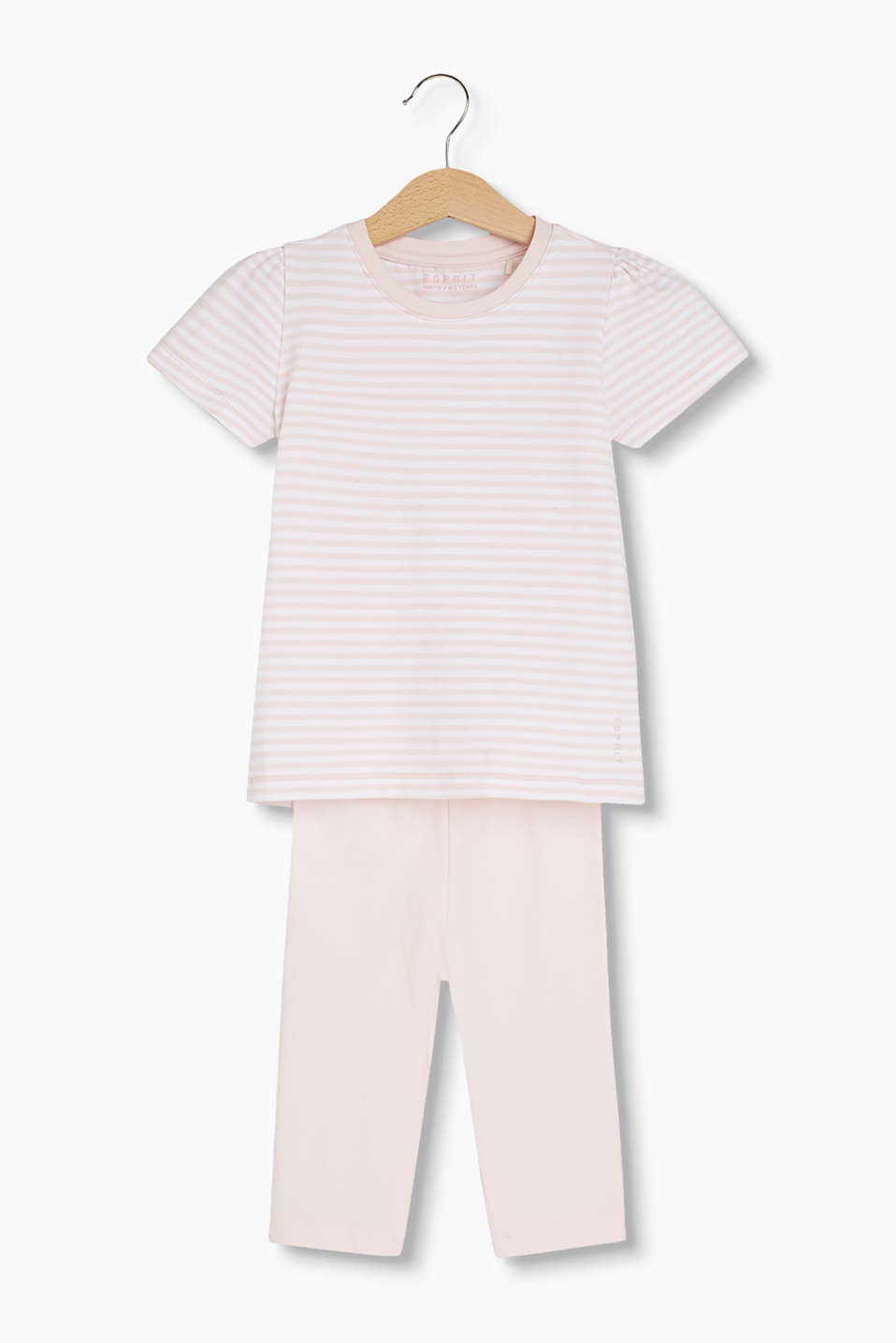 T-shirt rayé en coton stretch