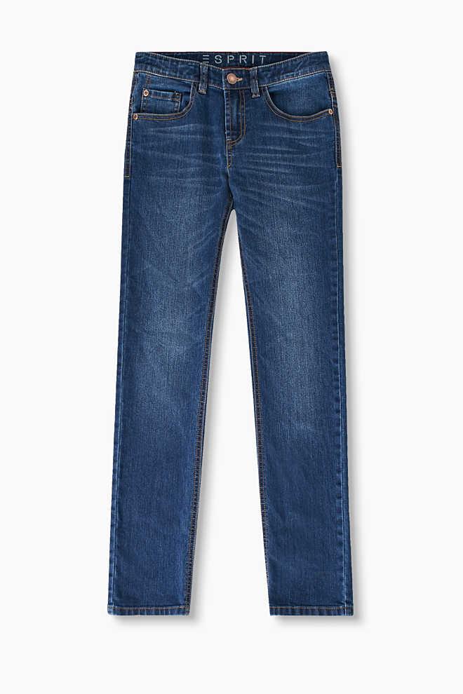 Strečové džíny z měkké bavlněné směsi