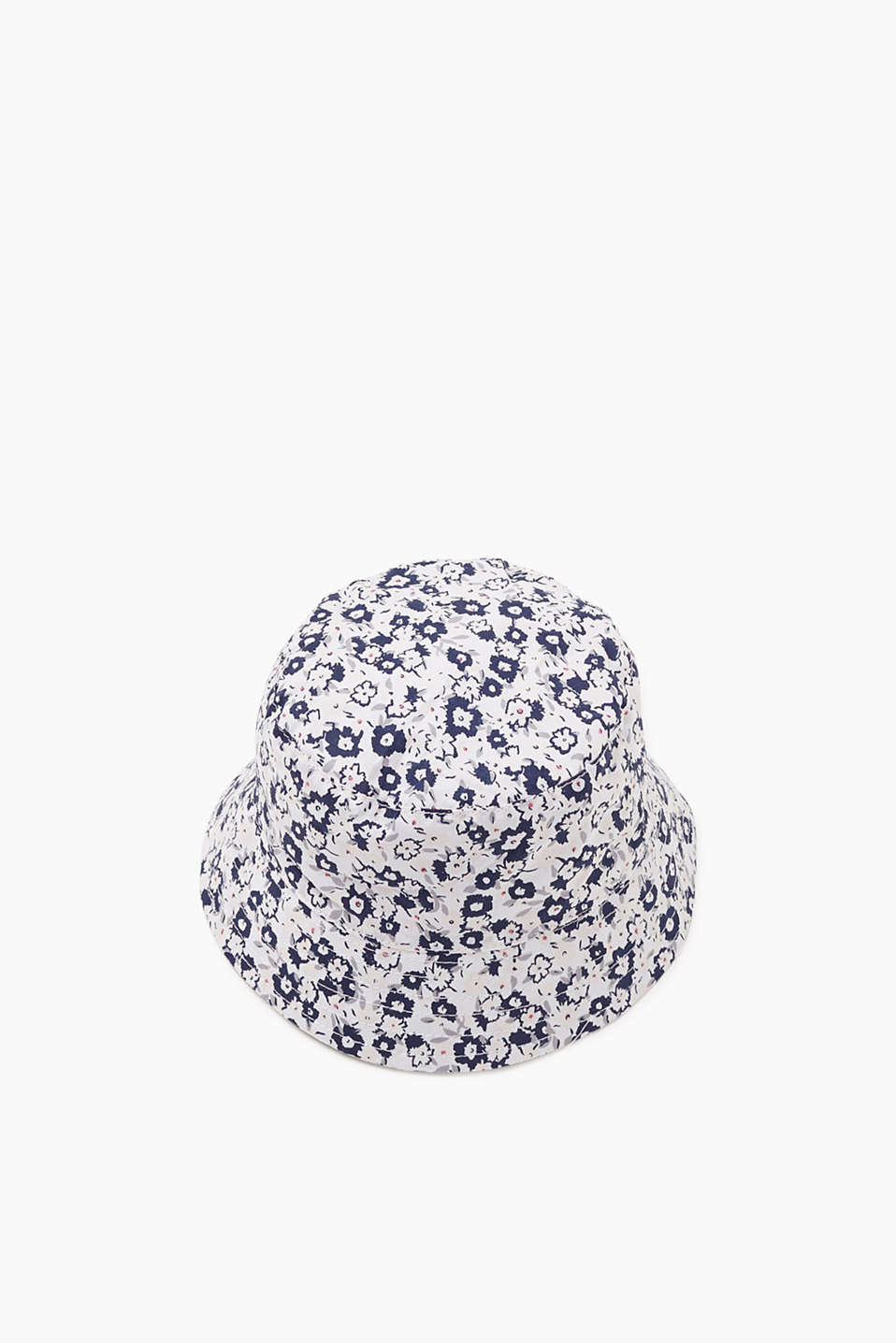 Esprit - Woven hat with print, 100% cotton