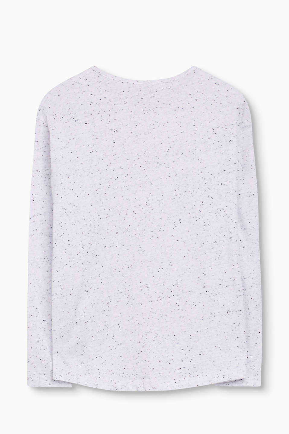 Bobbly glitter print cotton tee