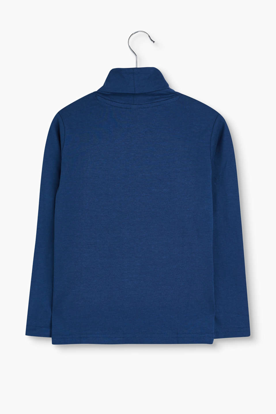 Basic jersey polo neck in soft jersey