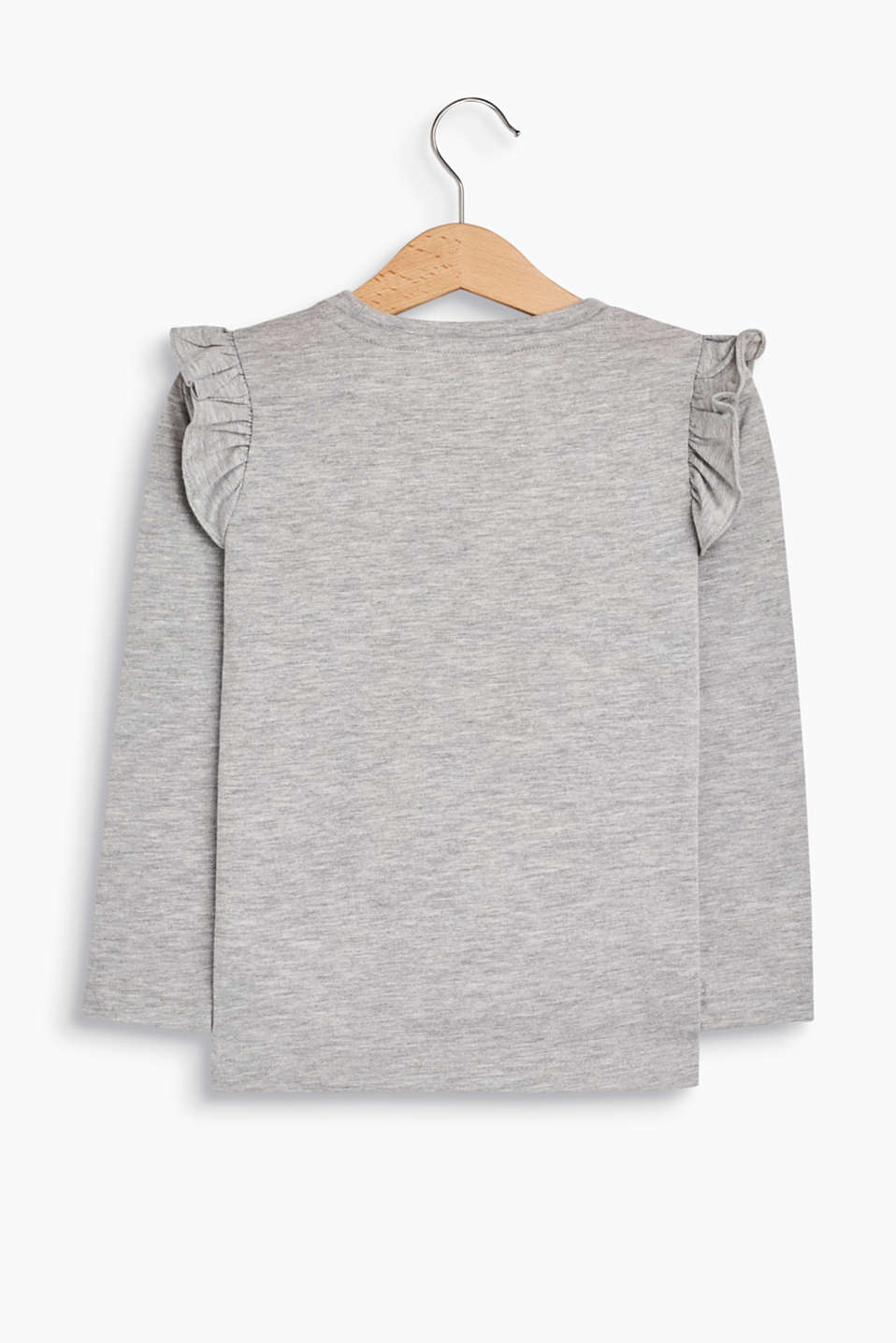 Appliquéd top, 100% cotton