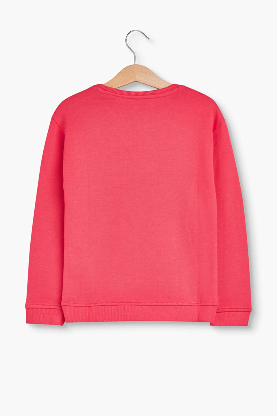 Sweat-shirt en coton, paillettes réversibles