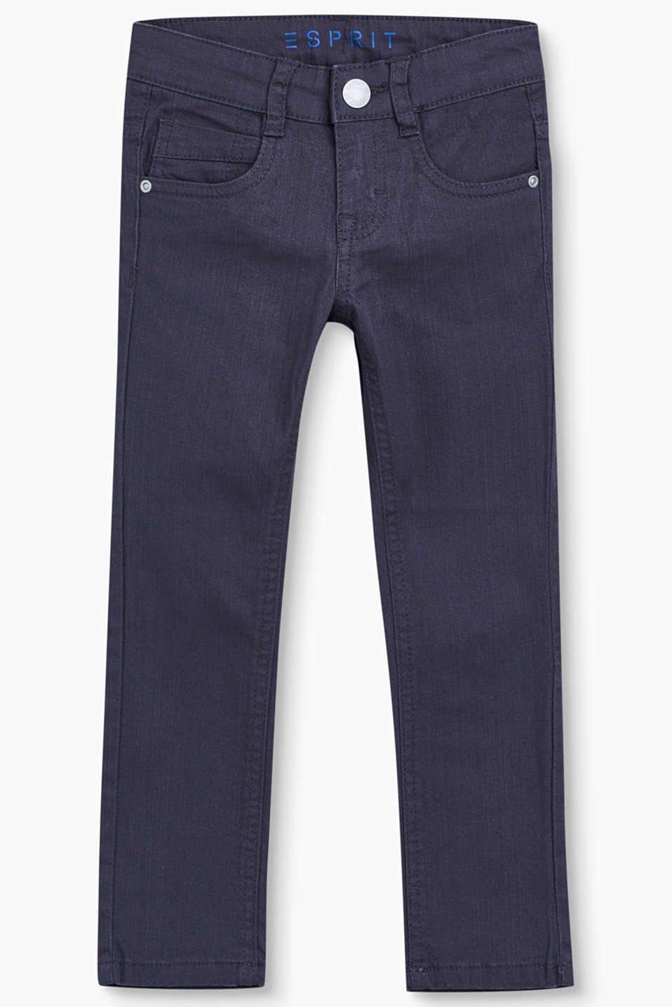 Esprit - Soepele 5-pocket-jeans met stretch
