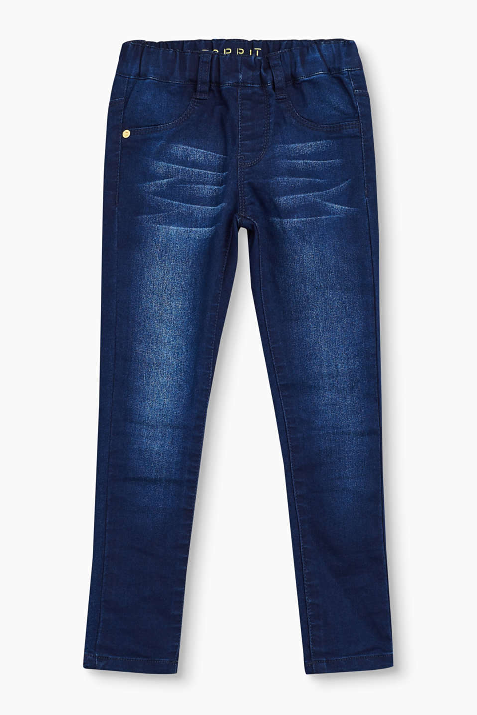 Esprit - Jeggings aus weichem Stretch-Denim