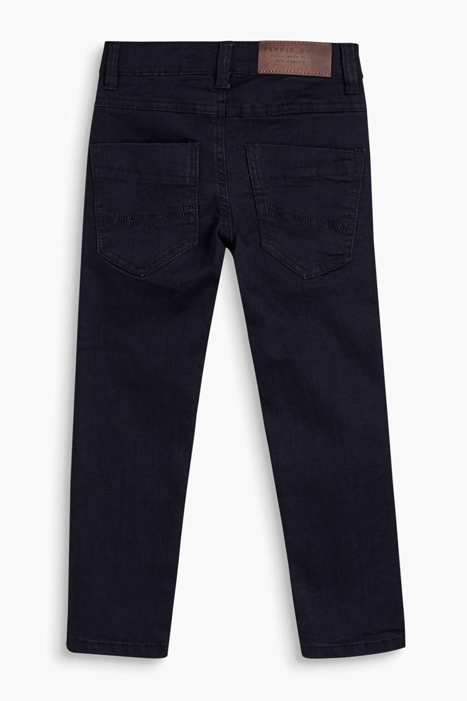5-pocket-jeans met crinkle effects