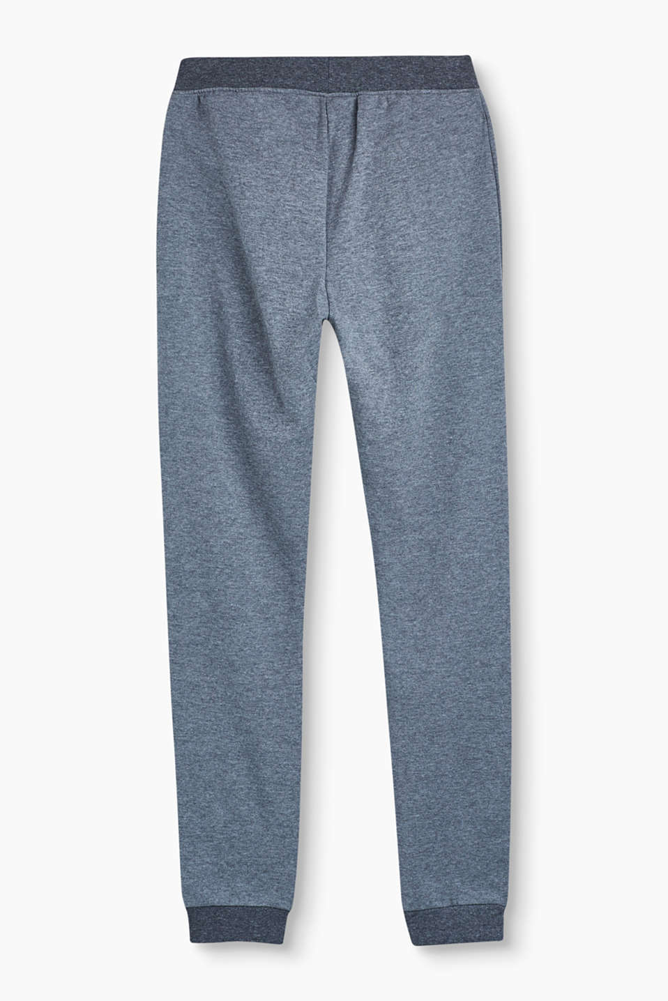 Basic tracksuit bottoms in 100% cotton